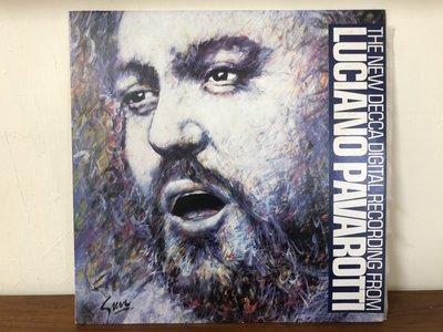DECCA黑膠LP/LUCIANO PAVAROTTI RECITAL路西亞諾帕華洛帝獨唱會