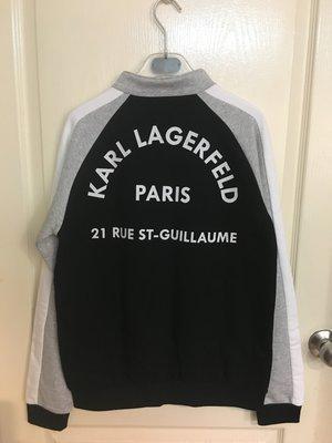 全新 KARL LAGERFELD printed back bomber jacket 大(女)童 16A 外套