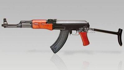 台南 武星級 SRC AK47C 全金屬 電動槍 二代(AK74 AKM PMC BB槍玩具槍步槍狙擊槍卡賓槍衝鋒槍