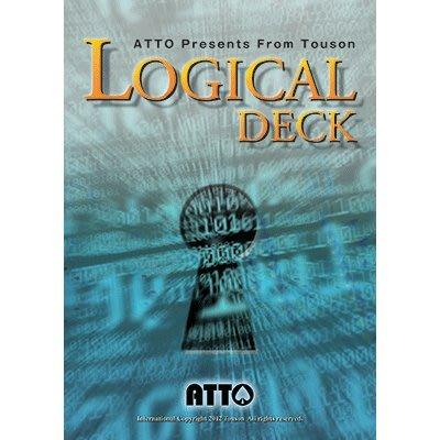 【天天魔法】【S477】正宗原廠道具~有邏輯的撲克(Logical Deck by Touson)