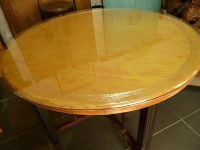 一塊板4尺檜木圓桌2