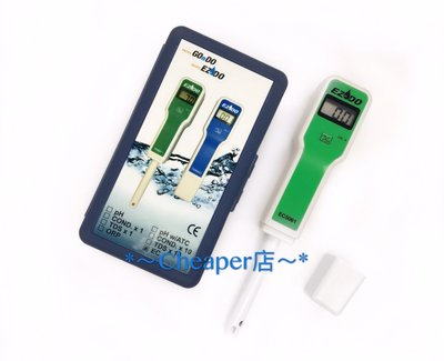 *~Cheaper店~*EZDO EC5061 EC計EC 5061 EC值檢測計(魚菜共生 土質 土壤)(台製)