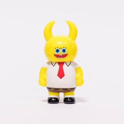 全新 UNBOX 限定  海綿寶寶 X UAMOU 聯名款 玩具 公仔