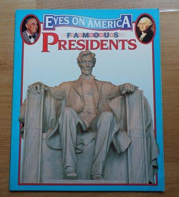 【英文童書】-- Eyes on America Famous Presidents --***愛麗絲夢遊***英6