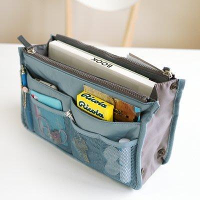 ♀高麗妹♀韓國 Invite.L DUAL Bag in Bag 再創美學 多用途收納包/包中包/袋中袋(6色選)預購