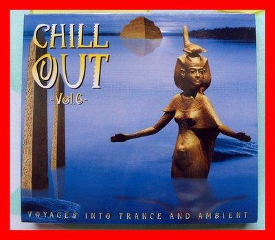 ◎2000全新雙CD未拆!Chill Out Vol. 6-19首好歌-傳思-電音-舞曲-電子音樂◎神明封面Trance