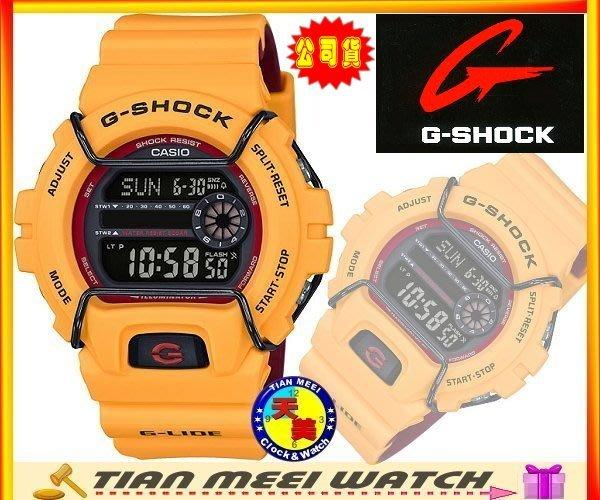 【台灣CASIO原廠公司貨】【天美鐘錶】【下殺↘超低價】G-SHOCK G-LIDE 抗超低溫錶 GLS-6900-9D
