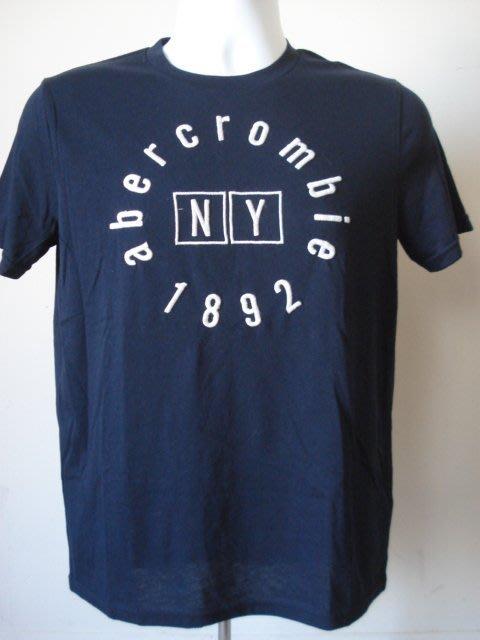 【780含運】A&F abercrombie logo graphic tee圓領刺繡短T 短袖T恤 KIDS XL號