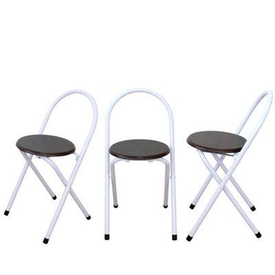 含發票-2入組【免工具全新品】手提式折疊椅-摺疊椅-會客椅-美容椅-電腦椅-主管椅-辦公椅-便利椅XR081WF深胡桃木