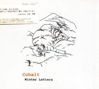 K - Cobalt - Winter Letters - 日版 - NEW