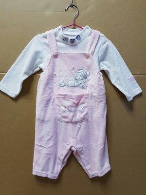 二手麗嬰房Disney上衣+吊帶褲一套,適合6M~1歲 台北市