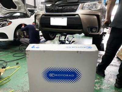 JK RACING 日本 KOYORAD 速霸陸 Forester XT SJ 原廠型水箱 PL092935