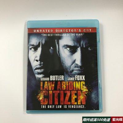 藍光光碟/BD 守法公民 Law Abiding Citizen驚悚犯罪 碟1080p高清收藏版繁體中字 全新盒裝