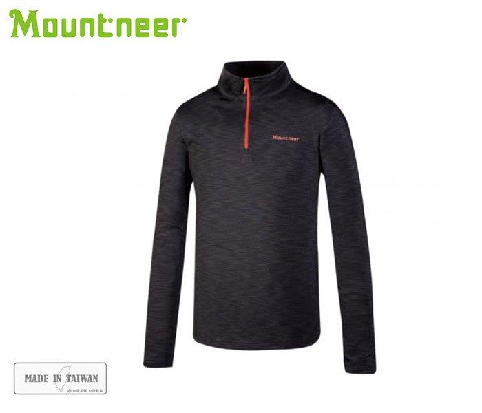 丹大戶外用品【Mountneer】山林休閒 男遠紅雲彩保暖上衣 32P11-11 深灰