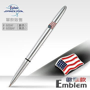 【angel 精品館 】 美國 Fisher Space Pen Emblem徽章款600AF . 600BAF