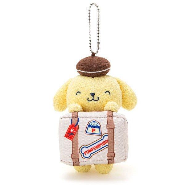 現品 日本三麗鷗人物 玩偶吊飾 布丁狗旅行趣