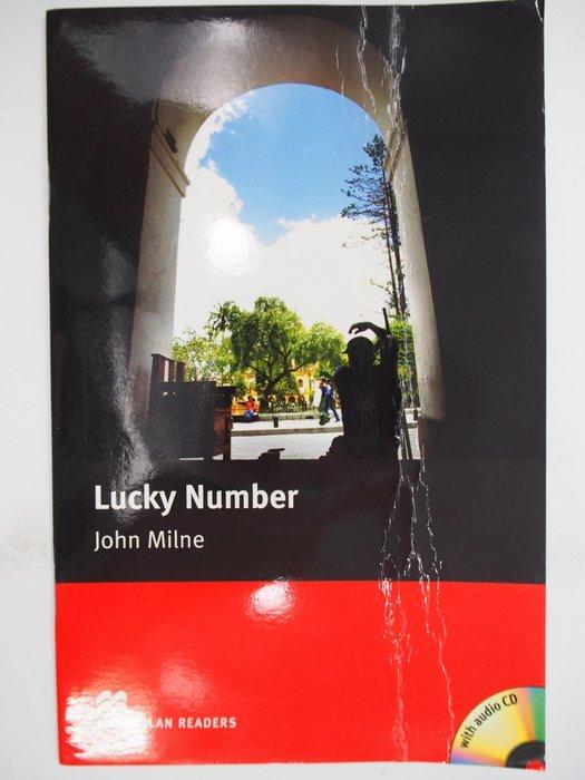 【月界二手書店】 Lucky Number(附CD光碟)_John Milne_東華出版_原價150 〖語言學習〗CJK
