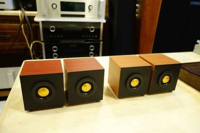 銘鋒音響社*英國Monitor Audio黃金超高音自製音箱˙可單獨當超高音/玫瑰紅木色/胡桃木色/全新品/特價供應 *