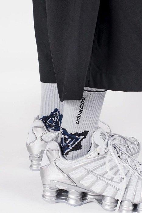 { POISON } NOZZLE QUIZ SPEED S1 白石 中筒橫紋羅織襪