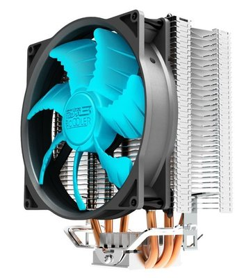 【小野3C】_____☆ 全新╭。☆ 東海X3智能 CPU散熱器 狼爪型扇葉 散熱佳 智能調速  超頻3