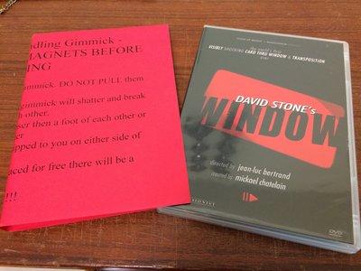 (魔術道具出清17)WINDOW by David Stone | Ellusionist原廠教學道具 隔窗換牌 變牌