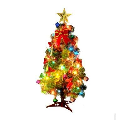 台灣現貨24小時出貨 聖誕節裝飾禮品30 45 60cm 迷妳聖誕樹 帶裝飾品套餐 精裝聖誕樹