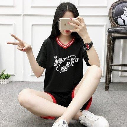 BELOCO 運動服 女子籃球服女套裝韓版短袖寬鬆籃球衣BE655