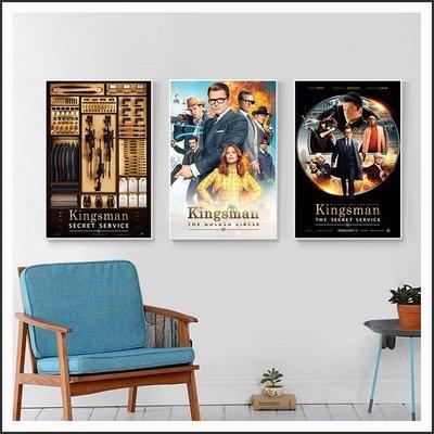 金牌特務 Kingsman 機密對決 海報 電影海報 藝術微噴 掛畫 嵌框畫 @Movie PoP 賣場多款海報#