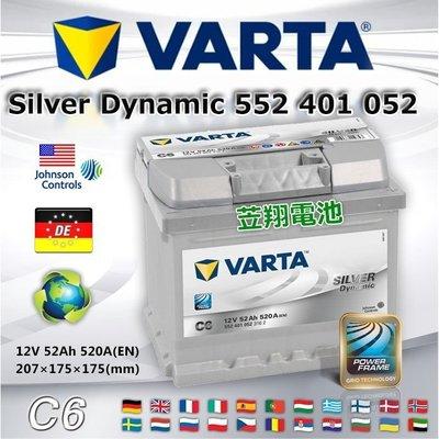 【電池達人】德國 正廠電池 VARTA C6 華達 汽車電瓶 54801 舊換新 特價賣場 鈴木 新SX4 SKODA