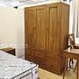 【米蘭柚木傢俱】全柚木衣櫃 -  5尺、基本款...