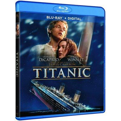 BD 全新美版【鐵達尼號】【Titanic】