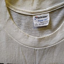 流行尖端Depeche Mode 1987專輯Music for the Masses T恤XL。領口衣面有時間黃漬漬點