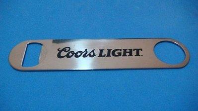 @ Coors LIGHT 酷爾斯 不鏽鋼開瓶器 @