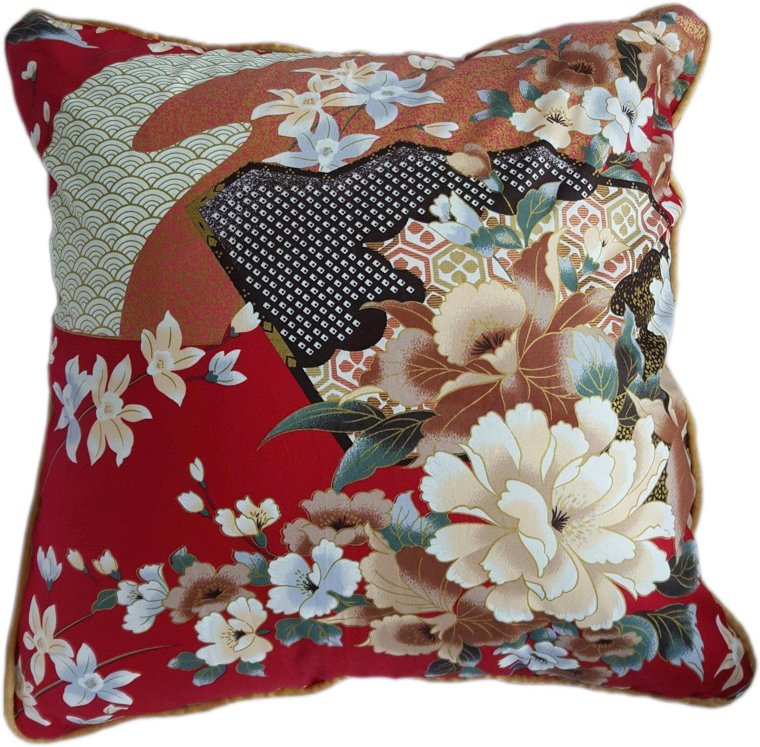 C01 日式和風抱枕  45x45cm系列 (不含枕心)