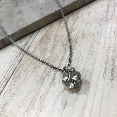 Maple麋鹿小舖 Abercrombie&Fitch * AF 單顆珠珠水鑽項鍊 * ( 現貨 )