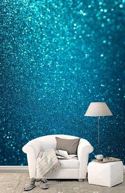 客製化壁貼 店面保障 編號F-541 藍色璀燦 壁紙 牆貼 牆紙 壁畫 星瑞 shing ruei