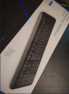 Microsoft微軟 wireless 850 無線鍵盤 二手正常品  店家再用 用不習慣