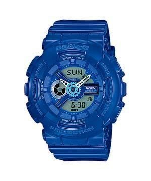 【BELLO】CASIO G-SHOCK BA-110BC-2A  《Baby-G↘少女時代最新代言款》G-Shock MINI系列 藍色