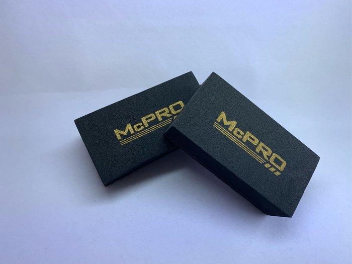 McPRO前檔玻璃鍍膜專用羊毛氈 5顆裝 (DIY鍍膜 車體鍍膜 奈米 9H 陶瓷 瓷釉 封體)