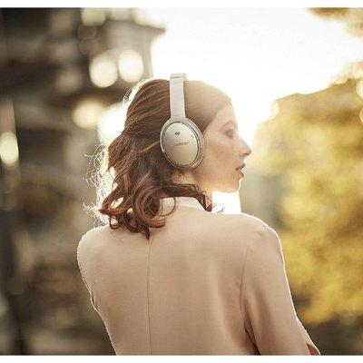 Bose - QuietComfort 35 QC 35 第2代藍牙降噪頭戴式耳機黑色