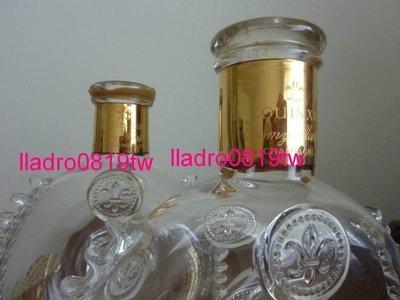 (瓶身號:6669) 法國 路易13 水晶 空酒瓶(Baccarat 巴卡拉 Louis XIII Remy Martin)/另軒尼詩哥本哈根