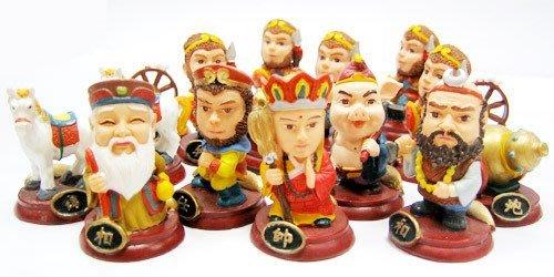大話西遊記 中國象棋 Q版人物公仔 禮物 兒童 親子 生日 聖誕節 獎品 益智 創意 桌遊 草莓熊雜貨店