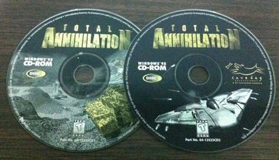 PC GAME_TOTAL ANNIHILATION~二手