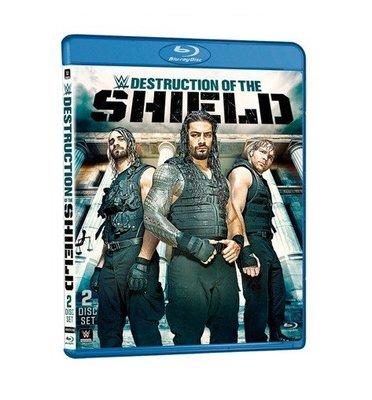 ☆阿Su倉庫☆WWE摔角 The Destruction of the Shield Blu-ray 神盾軍團專輯藍光版