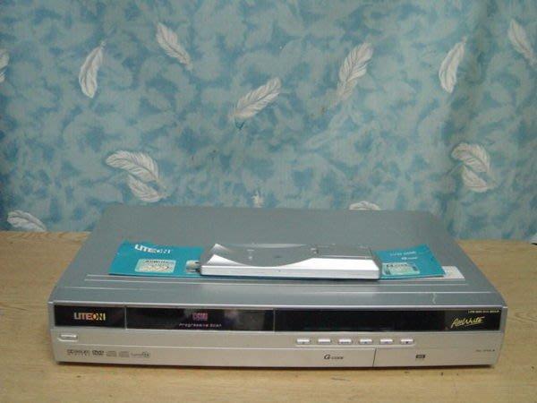 Y保固12個月【小劉二手家電】LITEON   DVD錄放影機,LVW-5006型,全新雷射頭,附萬用遙控器