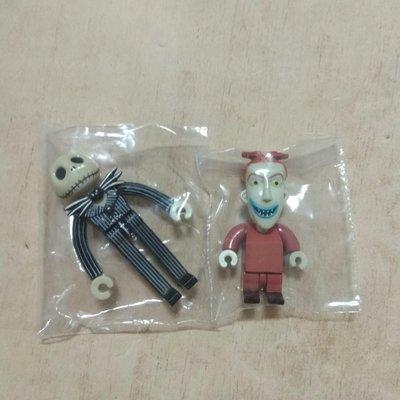 一起售 Yujin 迪士尼 聖誕夜驚魂 傑克 barrel  扭蛋 公仔