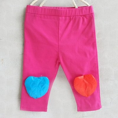 【班比納精品童裝】氣球內搭褲-桃【S2201016】