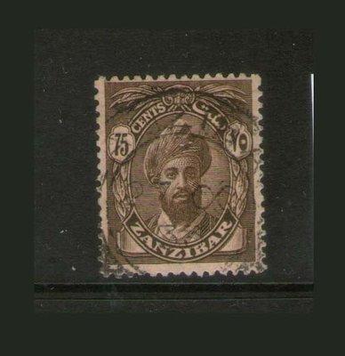 【雲品】桑給巴爾Zanzibar 1926 Sc 194 FU 庫號#67372