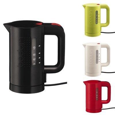 紅色,歐美名牌 Bodum Bistro 快速電熱水壺1.7L,無底座,電水壺,大容量,防乾燒,電茶壺,全新