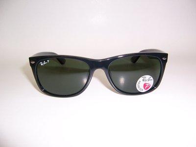 光寶眼鏡城(台南)Ray-Ban 偏光太陽眼鏡,高鼻墊 RB2132F/901/58,特大58,LUXOTTICA公司貨